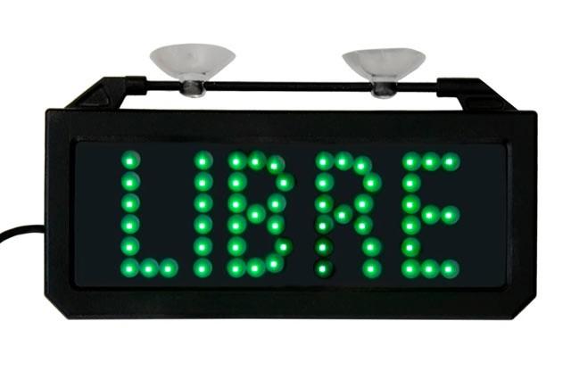 Letrero LED Saludes